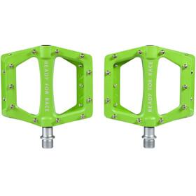 Cube RFR Flat Race Pedały zielony